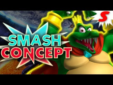 How Would King K Rool Work in Super Smash Bros Switch? - Smash Concept