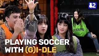Watch how wild it gets when (G)I-DLE plays soccer with a fan ⚽️ㅣ82minutes