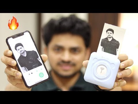 ₹2299/- Mini Portable Printer | Cheap Printer | PeriPage Printer | Tech Unboxing 🔥
