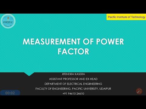 #powerfactor #pf #cosΦ         Measurement of Power Factor