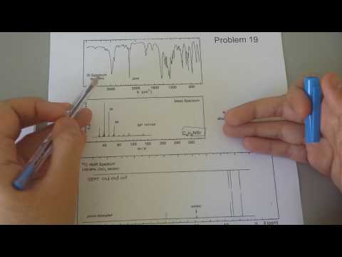 How to Structure Solve Based On NMR, IR& Mass spectroscopy Practice Problem Part 3