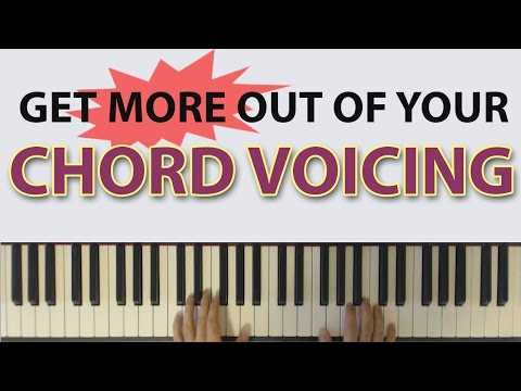 Get MORE out of your Chord Voicings: How ONE chord can be so useful!