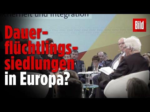 Experte fordert Flüchtlingsstädte in Deutschland   CDU Werkstattgespräch