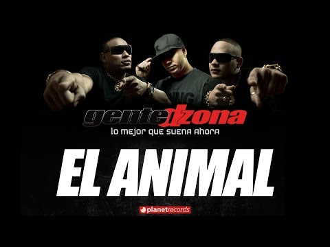 GENTE DE ZONA - El Animal (Lyric Video)