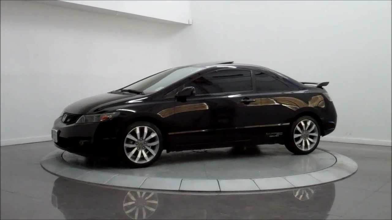 2009 honda civic si coupe youtube. Black Bedroom Furniture Sets. Home Design Ideas
