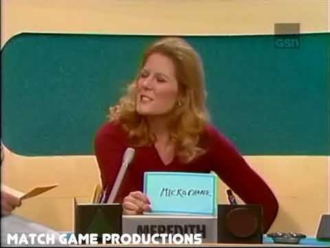 Match Game 75 Episode 421 Welcome Tom Bosley