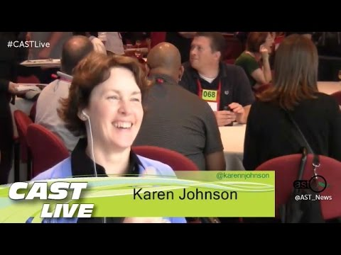 "Celebrity and the future of Conferences - Karen N Johnson on ""CAST Live"""