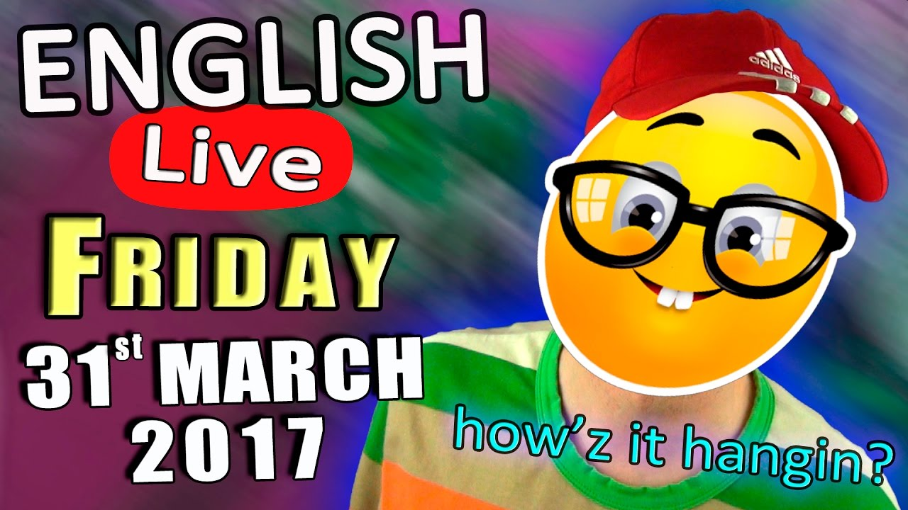 Learn English LIVE - a lesson to help you improve your ...