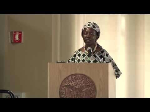 Dr. Musimbi Kanyoro speaking at Santa Clara Law