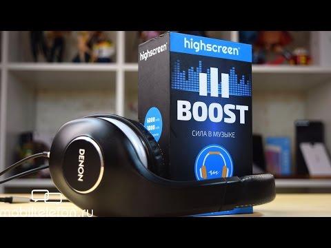 Обзор Highscreen Boost 3: сила в музыке и батареях
