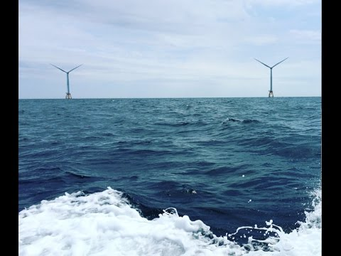U.S. builds first offshore wind farm