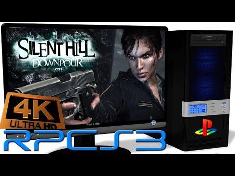 RPCS3 0 0 3 PS3 Emulator - Silent Hill: Downpour (4K UpScale) LLVM