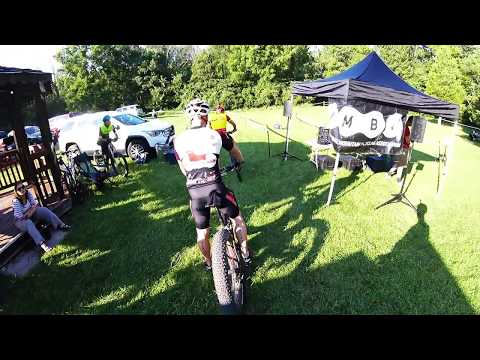 John Bryan mountain bike race on a Fat bike.