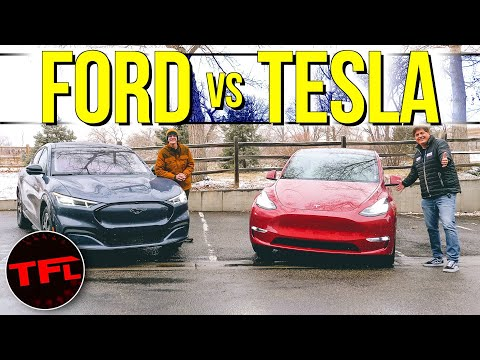 Ford Mustang Mach-E vs. Tesla Model Y: Did Ford Build A BETTER Tesla?