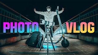 사진 브이로그 동네 한바퀴 (feat. 새로운 장비 추…