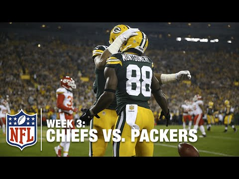 Aaron Rodgers Connects With Ty Montgomery to Take the Lead | Chiefs vs. Packers | NFL