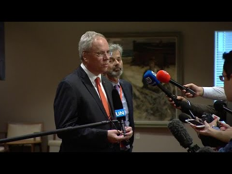 The Netherlands on Nikki Haley Resignation  - Security Council Media Stakeout