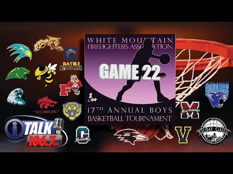 3:00 PM Saturday Game White Mountain Holiday Classic Basketball Tournament Full Game