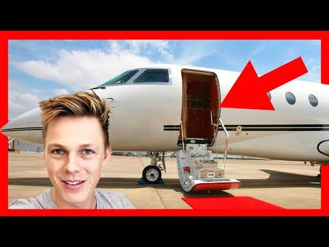 JAKE PAUL INSPIRED ME TO SNEAK ONTO A PRIVATE JET ft. The Chainsmokers
