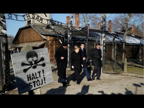 "Angela Merkel visits Auschwitz: ""Very powerful and historical speech"""