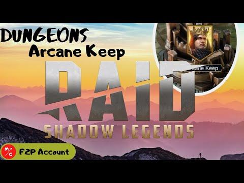 [F2P] | Raid Shadow Legends Arcane Keep | Required Evil!