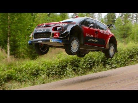 Mads Østberg / Citroën  C3 WRC  / PET - Rally Finland 2018