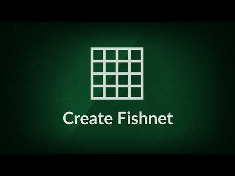 Create Fishnet tool tutorial | XTools Pro, extension for