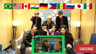 Super Junior reacts to now united crazy stupid silly love