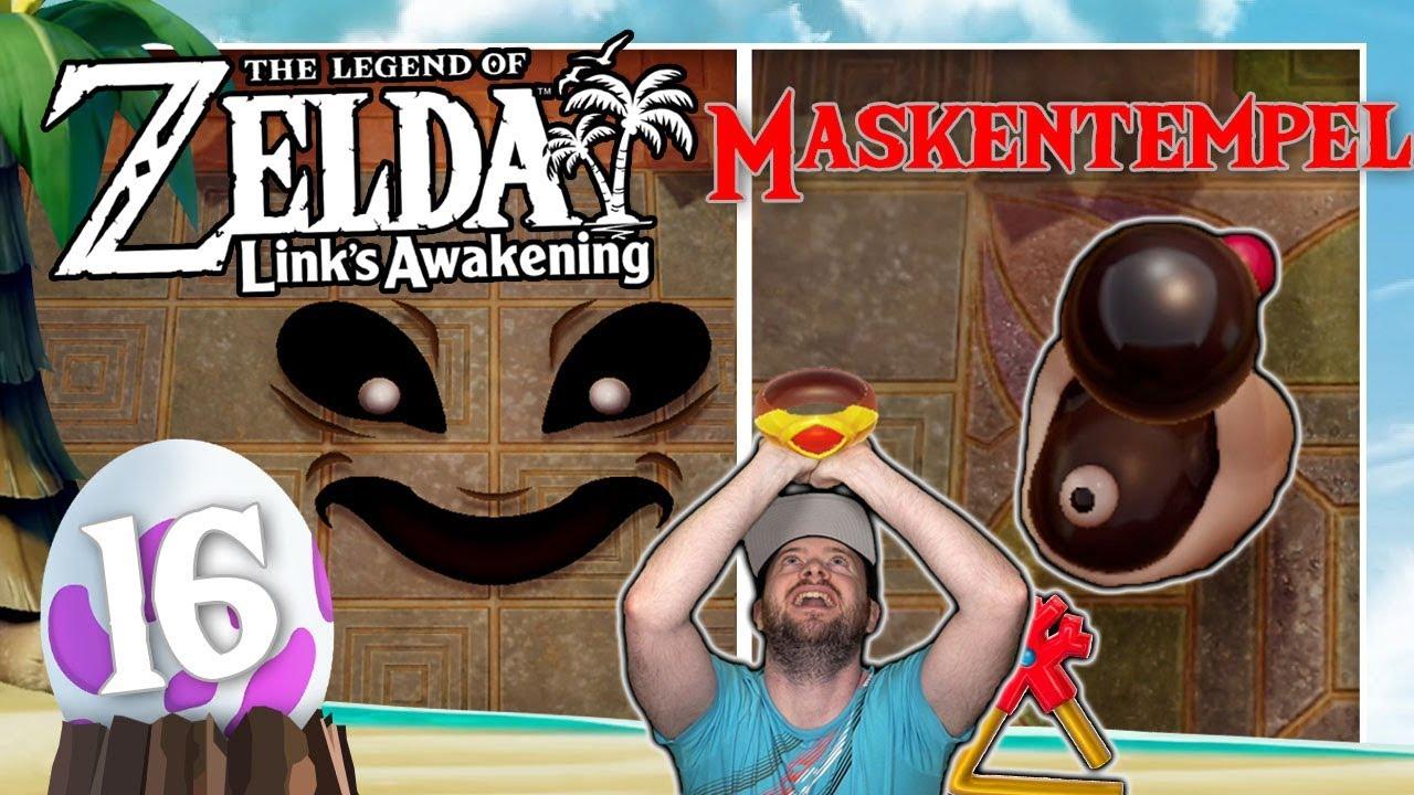 THE LEGEND OF ZELDA LINK'S AWAKENING 🗡️ #16: Gegen Smasher & Dämonenfratze im Maskentempel thumbnail