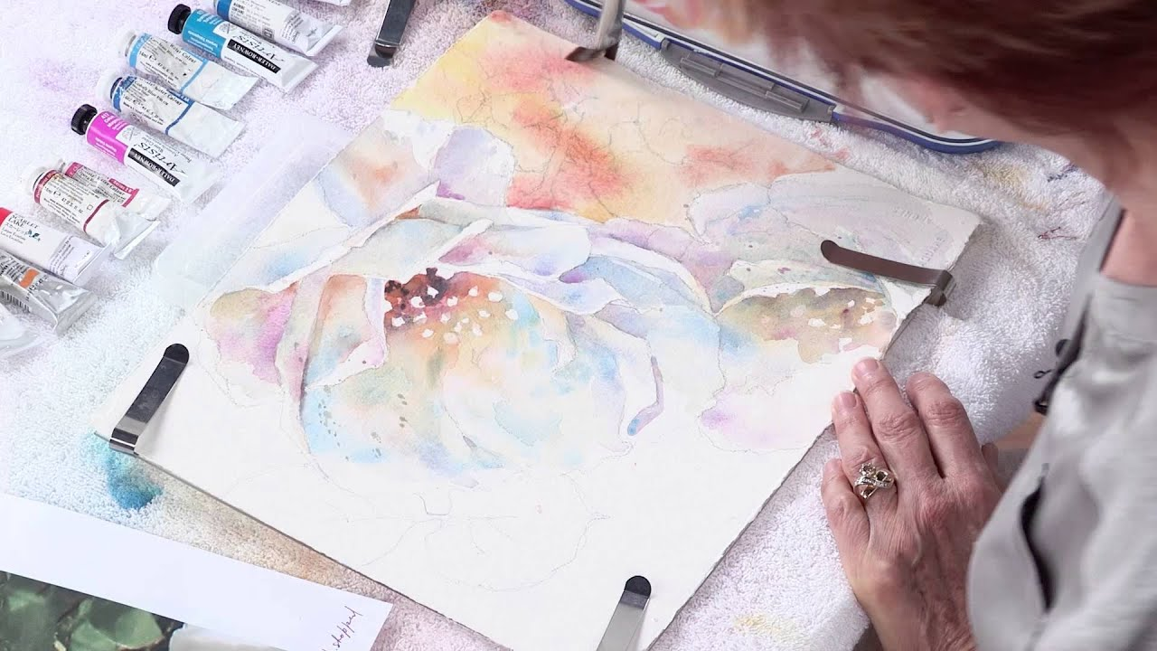 Preview watercolor unleashed painting white flowers with julie preview watercolor unleashed painting white flowers with julie gilbert pollard youtube mightylinksfo