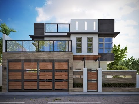 Modern 2 Y House With Roofdeck