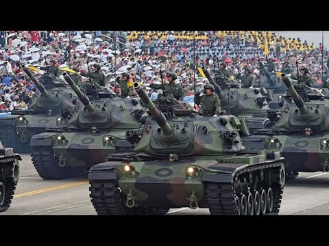 China Flexes Its Military Muscle at the World - YouTube