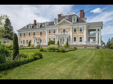 The Burklyn Mansion in Burke, Vermont