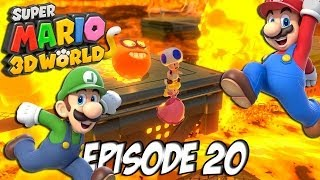 Super Mario 3D World: Let's Fun | Les requins attaquent | Episode 20 Thumbnail