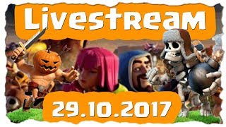 HALLOWEEN - EVENT - CK LIVE | Clash of Clans Deutsch [German] | Let´s Play COC