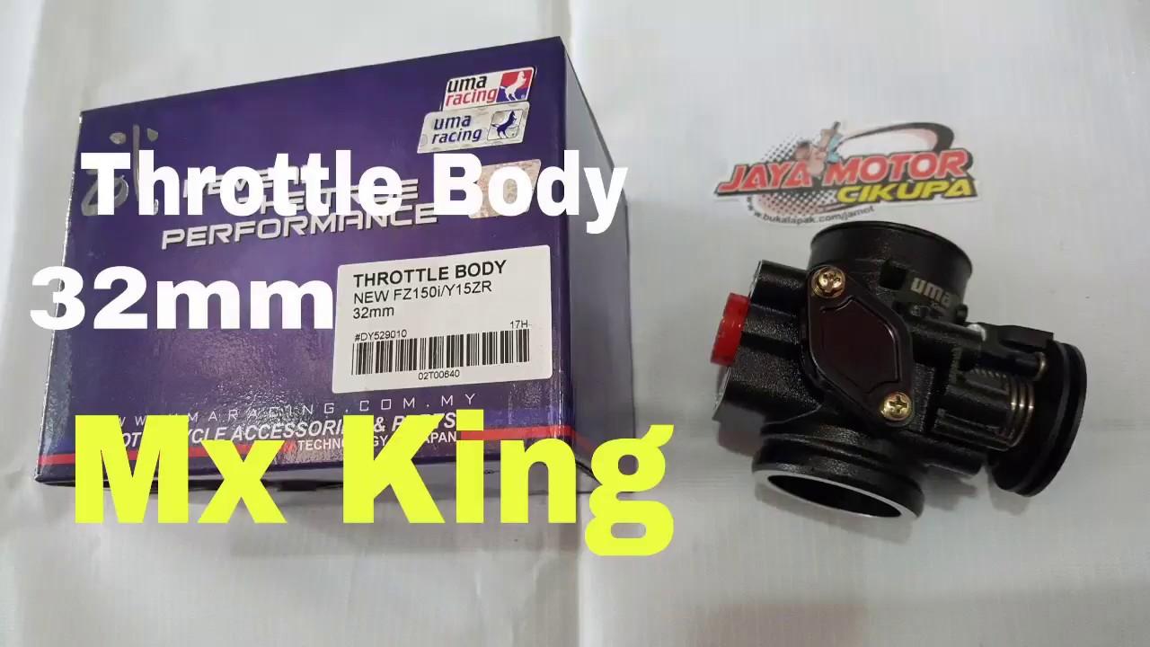 Uma Racing Throttle Body New Vixion fi / Mx king 32mm