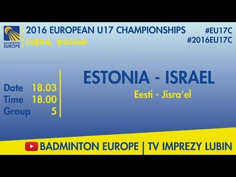#2016EU17C Lubin - group 5 - ESTONIA - ISRAEL