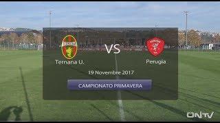ONTV: PERUGIA-TERNANA U.  Primavera 1-1 Immagini e interviste