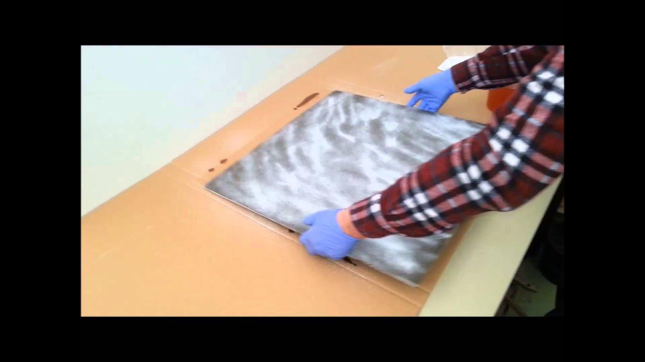 grundierung acryl - youtube