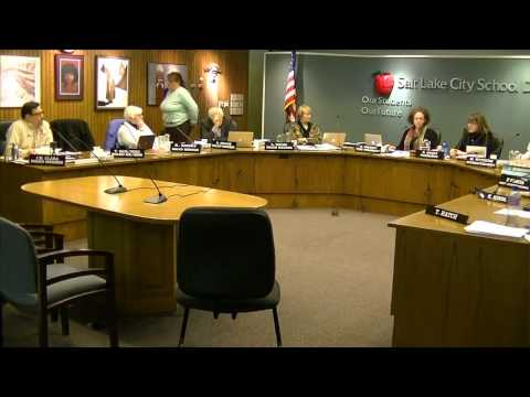 Attacking the Messenger: Salt Lake City School Board Meeting