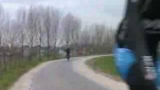 Kankerpatiënt fietst voor het goede doel