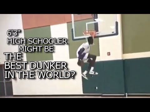 540 EASTBAY DUNK! Is a HIGH SCHOOLER the BEST DUNKER in the WORLD? Jimma Gatwech OMG