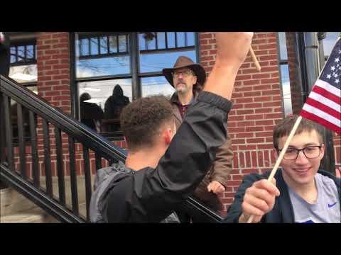Patriots vs Antifa in New Paltz, New York
