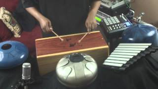 "Tongue Drum Experiment ""Live"""