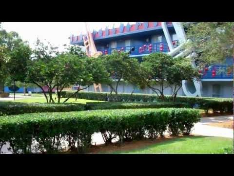 Walt Disney World Disneys All Star Music Resort 2012 HD Florida