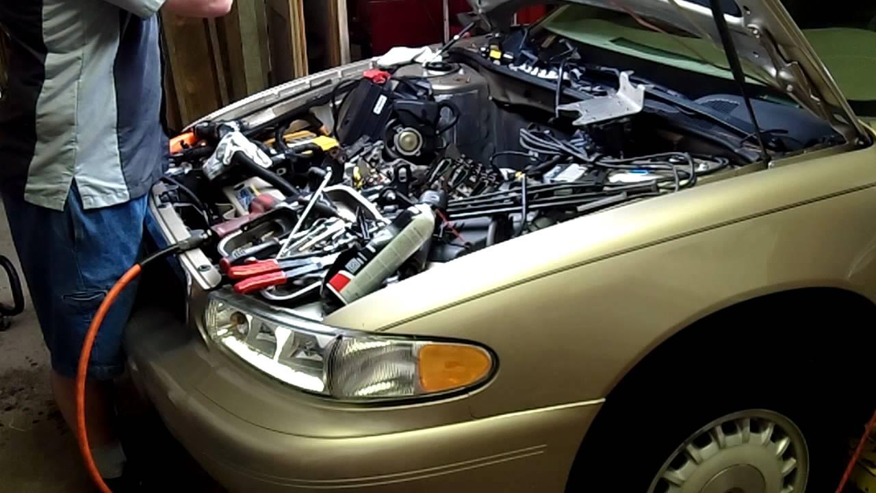chevy 3 1 liter engine leaking intake manifold gasket and warped chevy 3 1 liter engine [ 1280 x 720 Pixel ]
