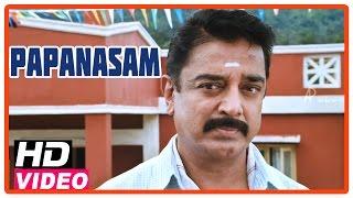 Papanasam tamil movie | climax scene | kamal haasan burying roshan's body | gautami