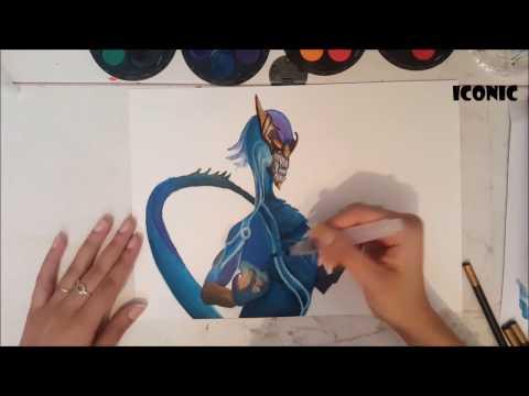 AURELION SOL (League Of Legends) ~ 3D ART (Anamorphic)