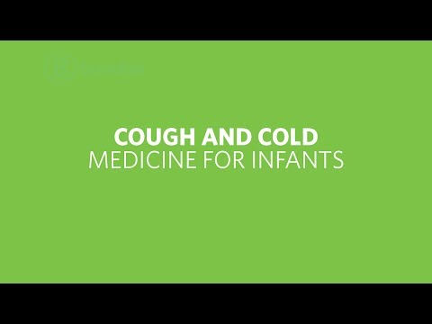 Cough and cold medicine for infants