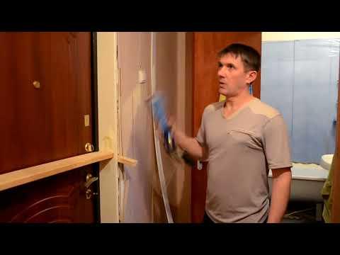 Как установить доборы и наличники на входную дверь своими руками видео